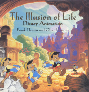 Cover to the Illusion of Life: Disney Animation by Frank Thomas & Ollie Johnston